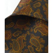 Fine Silk Burmese Coronet Pattern Hank in Navy