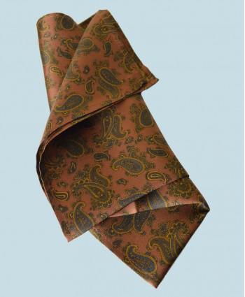 Fine Silk Burmese Coronet Pattern Hank in Bronze