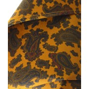 Fine Silk Burmese Coronet Pattern Hank in Gold