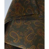 Fine Silk Burmese Coronet Pattern Hank in Green